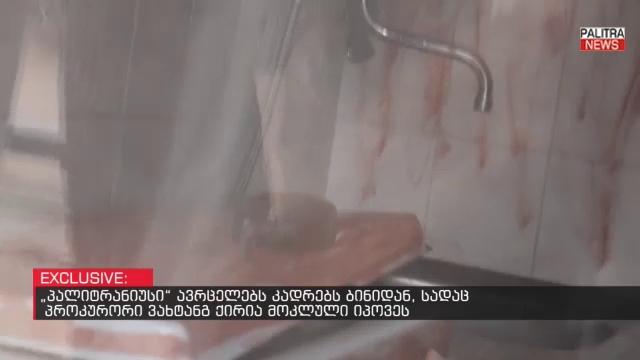 კადრები ბინიდან, სადაც პროკურორი მოკლული იპოვეს - ექსკლუზიური ვიდეომასალა