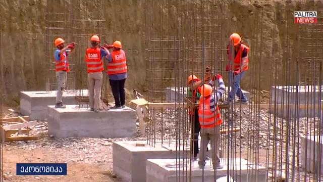კადრები 13-მილიონიანი ავტობაზიდან, რომლის მშენებლობა დიდ დიღომში უკვე დაიწყო